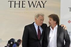 The movie The Way features a father walking the Camino de Santiago after losing his son on the pilgrimage route. Martin Sheen is directed by his son Emilio Estevez.