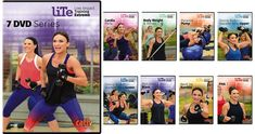 Pre-Order Cathe's new workout videos designed for Intermediate Exercisers - The LITE Series High Intensity Cardio, High Intensity Interval Training, Workout Dvds, Workout Videos, Fun Workouts, At Home Workouts, Cathe Friedrich, Step Aerobics, Low Impact Workout