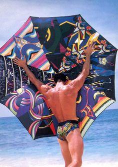 Bruce Weber for Versace. 1990's