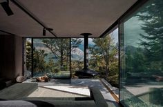 Mountain Retreat, a modern cabin by Fearon Hay. Views to Lake Wakatipu - simply amazing Exterior Design, Interior And Exterior, Deco Design, Design Design, Design Ideas, My Dream Home, Interior Architecture, My House, Open House