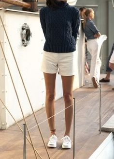 sail, prep, black & white, trainers The Effective Pictures We Offer You About girly preppy outfits A Preppy Mode, Preppy Style, Preppy College Style, Preppy Basics, Looks Chic, Looks Style, Segel Outfit, Adrette Outfits, Girly Outfits