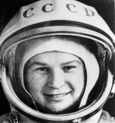 The first woman in space (1963): Valentina Tereshkova of the Soviet Union