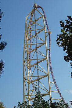 Top Thrill Dragster at Cedar Point in Sandusky, OH hahahahaha because @Ciara Keller, @Jessi Luviano and I will never forget our day at Lagoon hahahah Love you @Elizabeth Ulman