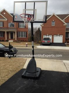 spalding portable basketball hoop assembled in elkridge MD by Furniture assembly Experts LLC - Call 2407052263 Basketball Park, Basketball Video Games, Basketball Court Flooring, Curry Basketball, Basketball Pictures, College Basketball, Basketball Shoes, Spalding Portable Basketball Hoop, Severna Park