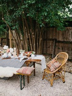 Here are 8 ease ways to upgrade your backyard into an outdoor relaxing space. Succulent walls, accent pieces, hanging chairs, bar carts, and ornate table scapes... we have it all!