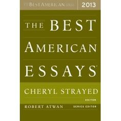 Click to read more about The Best American Essays 2013 by Robert Atwan.  LibraryThing is a cataloging and social networking site for booklovers