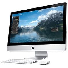 """IMAC 27"""" CORE I3 3,2 GHZ Hdd 1 To Ram 4 Go Qwerty"""