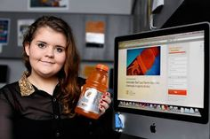 """When Gatorade fan Sarah Kavanagh learned that her favorite drink contains an emulsifier banned in other countries over health concerns, she was taken aback.  """"I was shocked that they'd put their..."""