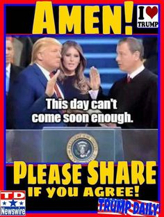 OH MAN,......DO I EVER AGREE WITH THIS.....I CAN'T WAIT EITHER.....LET'S HURRY THIS UP SO WE CAN MAKE AMERICA GREAT AGAIN......I WANT IT NOW.!!!!!.......VOTE TRUMP PEOPLE....LET'S MAKE THIS HAPPEN.....REMEMBER PEOPLE WE GOT TO VOTE THIS TIME.....GET OUT AND VOTE....VOTE TRUMP.!!!!