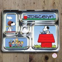 Personalized Custom Snoopy magnets for PlanetBox Rover.  #planetbox