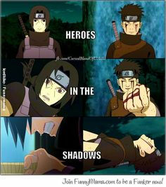Naruto- Itachi and Shisui. True shinobi heroes