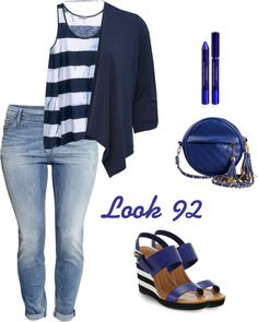 MAS TENDENCIAS BCN: Look 92 - blue in love!!!!