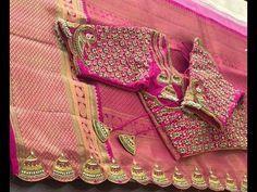 Latest Designer saree tassels collections/Saree Kuchu Designs - YouTube