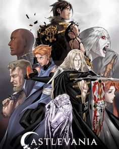 Castlevania Dracula, Castlevania Netflix, Alucard Castlevania, Graham Mctavish, Richard Armitage, Live Action, Castlevania Wallpaper, Manga Anime, Anime Art
