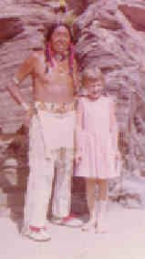 My Picture with Ben Black Elk at Mount Rushmore by sedlak_lori, via Flickr