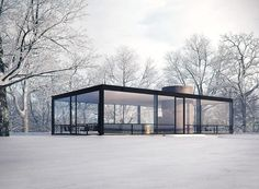 The Glass House, Philip Johnson, 1949