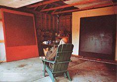 Mark Rothko in his studio