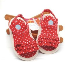 red baby sandals | ... -selling red dot cake baby girl sandals shoes ,princess toddler shoes