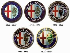 In the summer of Anonima Lombarda Fabbrica Automobili (A. The new companys badge was taken from the coat of arms of Milan where Alfa originated. Alfa Romeo has been a part of the Fiat Group since Alfa Romeo Logo, Alfa Romeo Gtv, Alfa Romeo Cars, Alfa Romeo Giulia, Alfa Cars, Car Badges, Car Logos, Auto Logos, Alfa Alfa