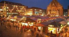 The German National Tourist Board has just releasedstatistics on the most popular attractions in the country. Coming it at no. 24 (tie): Nuremberg Christmas market. Held on the Hauptmarkt of the historic Old Town, this world-famous market features a medieval atmosphere.