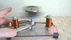 Generador Autosuficiente con Imanes, Energia sin Limites