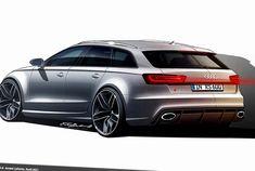 Audi RS6 Avant concept - http://autotras.com