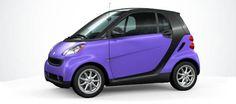 Smart Car- Purple wrap