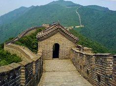 Gran Muralla China en Mutianyu cerca de Beijing