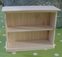 how to: small bookcase