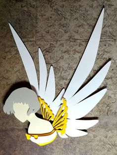"""Clover Paper Cut Art Piece 8""""x10"""" Shadowbox Frame These Paper CutOuts are designed using Scale Vector Graphics and cut using a paper cutter for precision details. Than by hand they are arranged"""