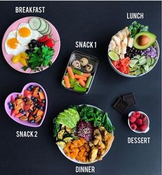 Healthy Recipes Hope you are having a lovely week and get some ideas about what to eat in a day Details below x ⠀ ~ - Health and Nutrition Healthy Meal Prep, Healthy Snacks, Healthy Eating, Healthy Recipes, Eating Fast, Dinner Healthy, Keto Meal, Good Food, Yummy Food
