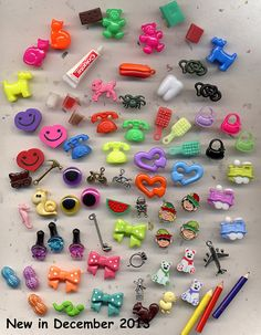 25 - I SPY TRINKETS, Toys, Charms, Miniatures, Bean Bags, Activities, Children, Adult, Games, Girls, Boys, Parties on Etsy, $6.00