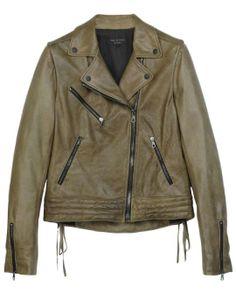 Rag & Bone Leather Motorcyle Bowery Jacket #poachit