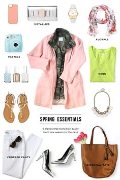 6 Fashion Essentials for Spring #theeverygirl