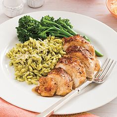 Balsamic-Garlic Chicken Breasts