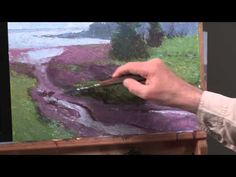 Preview The Secret to Oil Painting Wet-Into-Wet for alla prima painting tips on blocking in of shapes, adjusting your shapes for success, how to mix colors for landscape paintings, and how to use brushes and palette knives to achieve a variety of painterly effects.