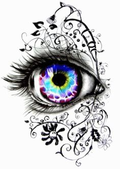 Fantasy eye brilliant idea reminds me of my line drawings i should do that again but this is truly exquisite! blue eye tattoo by niki norberg Line Drawing, Drawing Sketches, Painting & Drawing, Drawing Ideas, Body Painting, Watercolor Paintings, Cool Drawings, Pencil Drawings, Drawings Of Tattoos