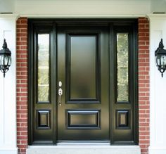 1900 homes with double front doors | house door black entry