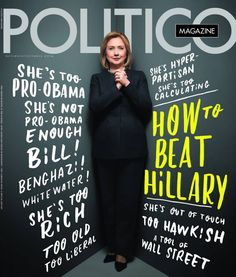 """It's hard, no impossible, to always be """"too too."""" It's no wonder Hillary has developed an air of reserve that many deem """"stuffy,"""" """"snobby,"""" and yes, even (especially) bitchy. It's hardly surprising, statistical studies have shown that men - and women - view a strong woman with ambition in a negative way. So Hillary, backed into a corner for decades, has become cautious and protective of her self. What woman wouldn't?"""