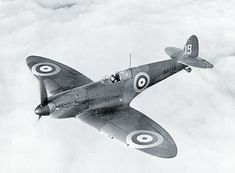 The British Supermarine Spitfire
