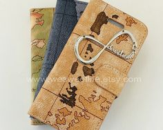 Vintage World Map Wallet caseOne Direction by wesweetlife on Etsy, $14.99