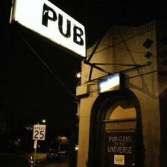 The Pub at the end of the Universe