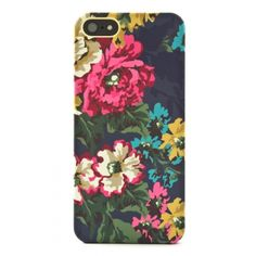 Joules iPhone 5 Handy Hard Covers - Navy Floral - £24.95 by Proporta
