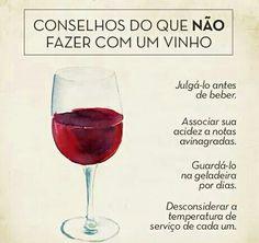 #Vinho...e #Conselhos #ficadica