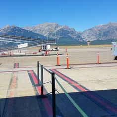 Yesterday  at the Jackson Hole airport. #ExploreMore  #travel #latergram