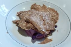 Asador Etxebarri restaurant Spain, egg-yolk-with-truffles. this is a rich dish!