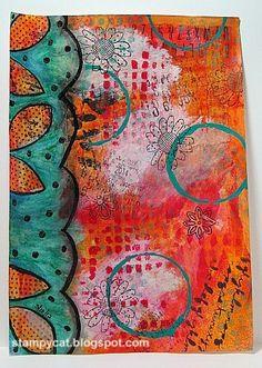 Tangerine & turquoise - A beautiful combination!