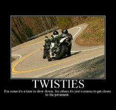 Twisties, hanging out in the corners, dragging knee, sportbike cornering, motorcycle, twist & turns