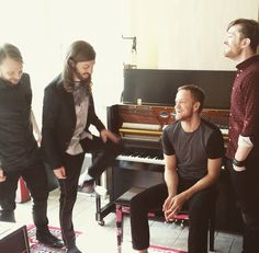For everything Imagine Dragons check out Iomoio Imagine Dragons, Kinds Of Music, Music Is Life, My Music, Great Bands, Cool Bands, Imagine Lyrics, Wayne Sermon, My Favorite Music