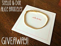 Enter to win a Stella & Dot Alice Bracelet on MelanieMeditates.com!